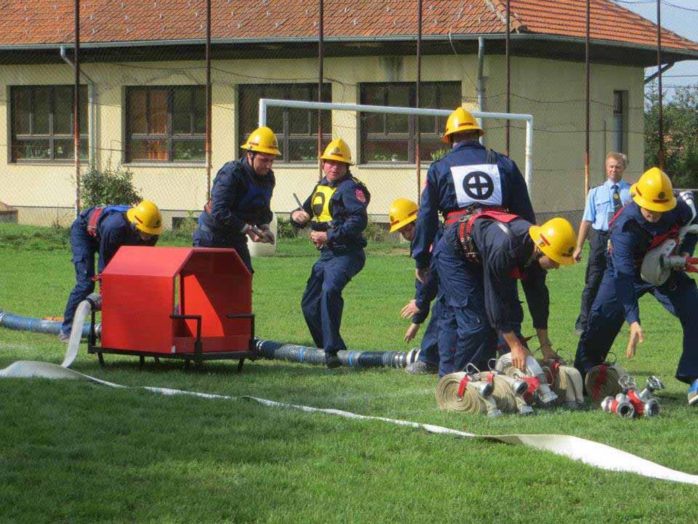 Održano natjecanje Vatrogasne zajednice općina Hlebine, Koprivnički Bregi