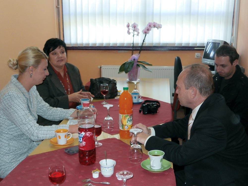 Posjet zamjenika župana OŠ Koprivnički Bregi