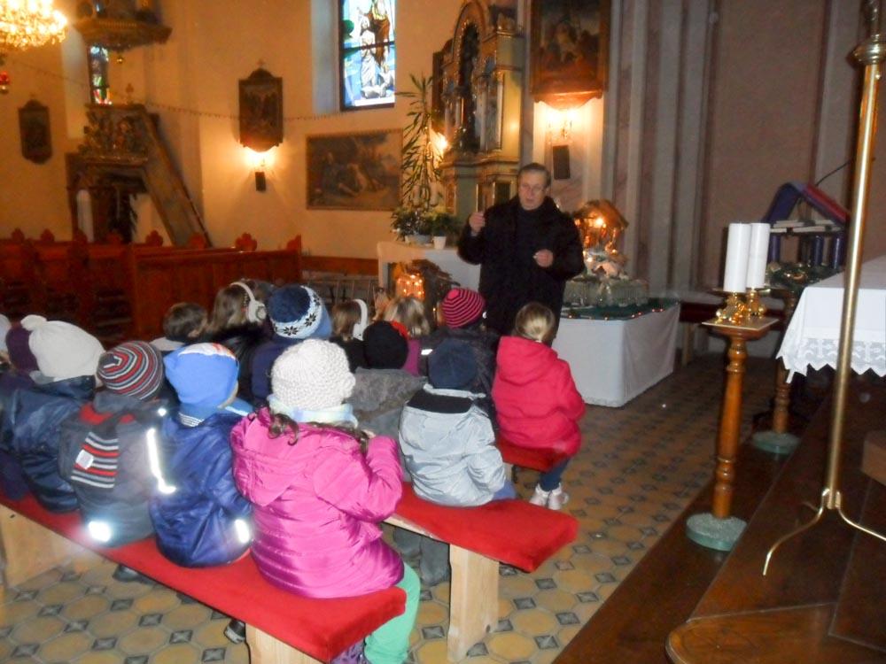Posjet mališana Crkvi svetog Roka