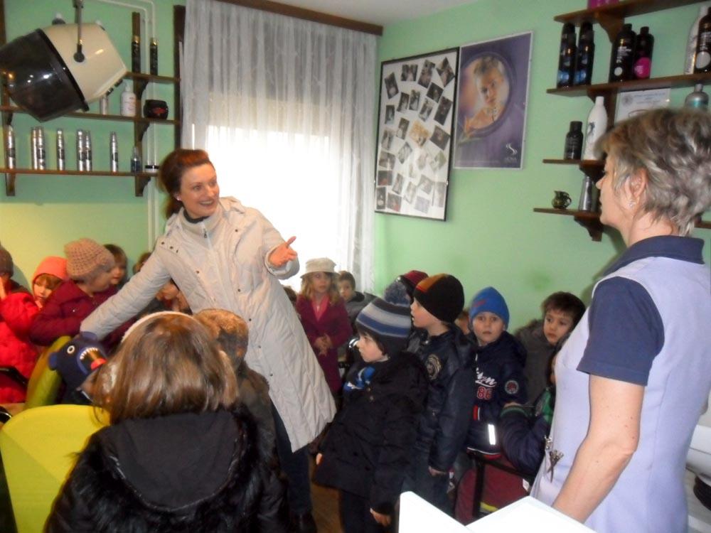 """""""Potočići"""" posjetili frizerski salon """"Karolina"""""""