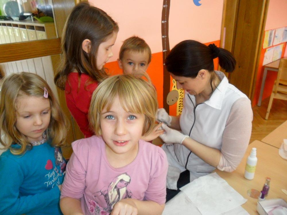 Posjet kozmetičarke Dječjem vrtiću