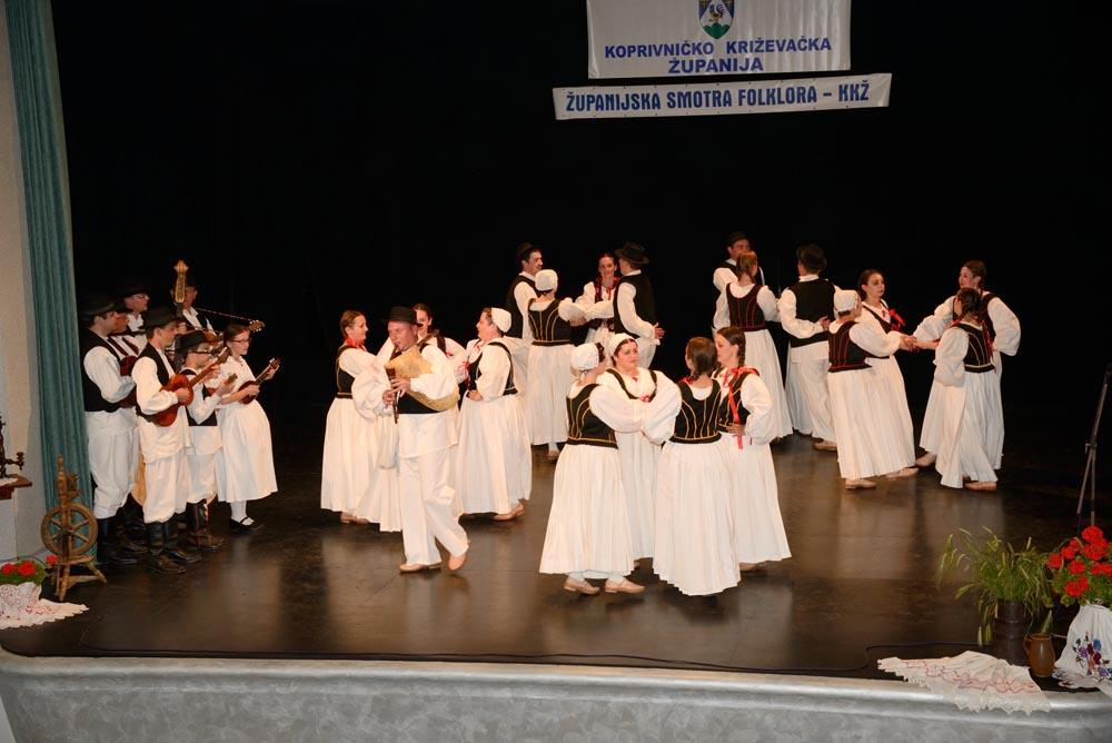 16. županijska Smotra koreografiranog folklora