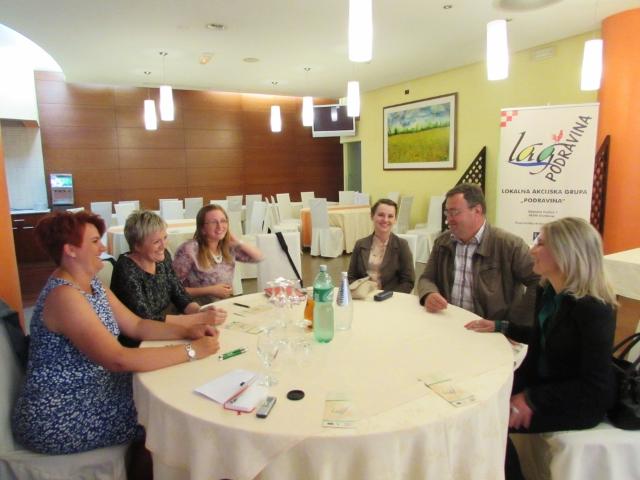 Okrugli stol: Prva godina provedbe IPARD Programa, Mjere 202 kroz LEADER pristup u LAG-u PODRAVINA