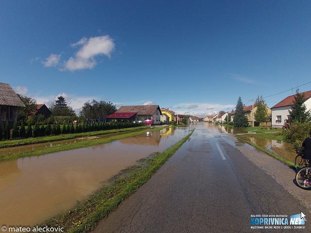 Velike poplave u općini Koprivnički Bregi