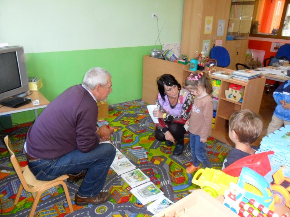 Posjet pisca dječjem vrtiću