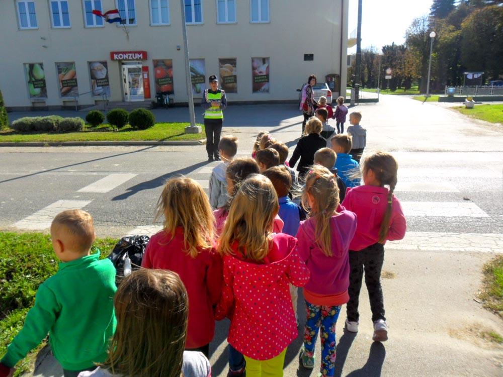 Edukativno predavanje vrtićarcima u Koprivničkim Bregima