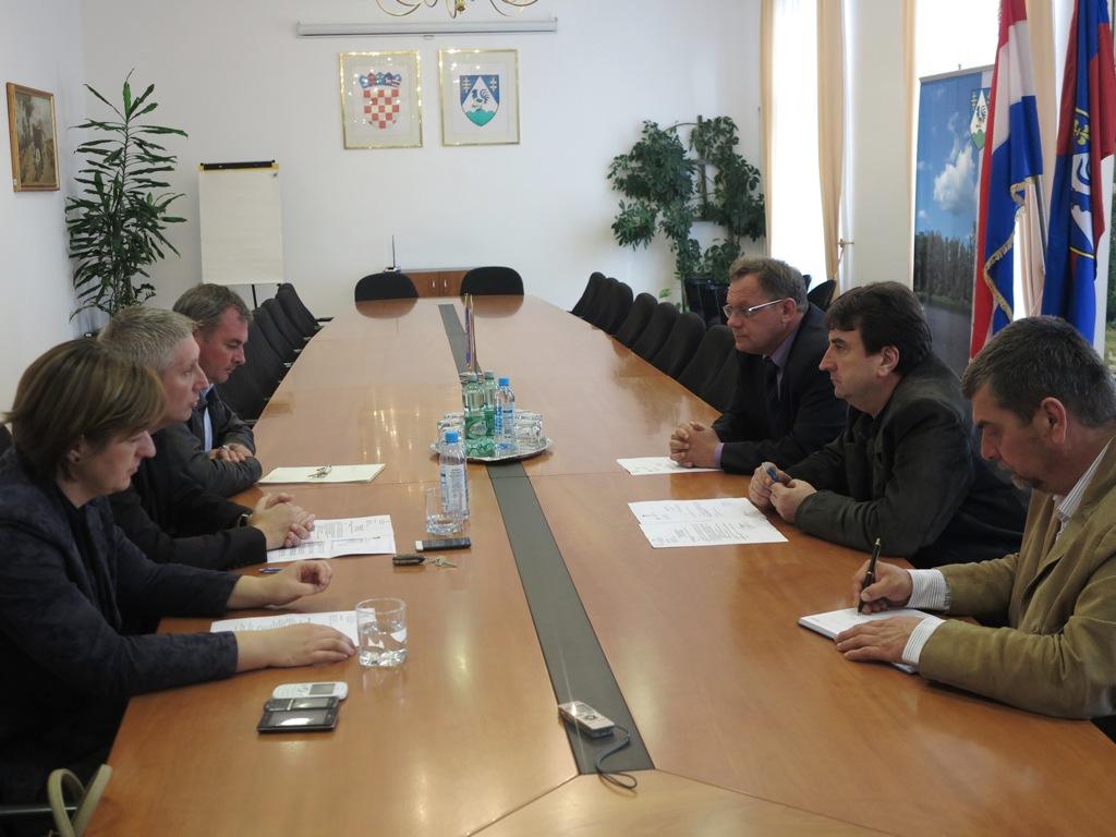 Sastanak sa predstavnicima Hrvatskih voda