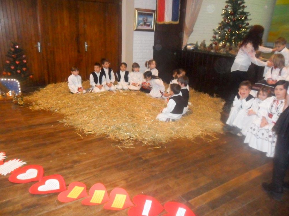 Snimanje Božićne čestitke