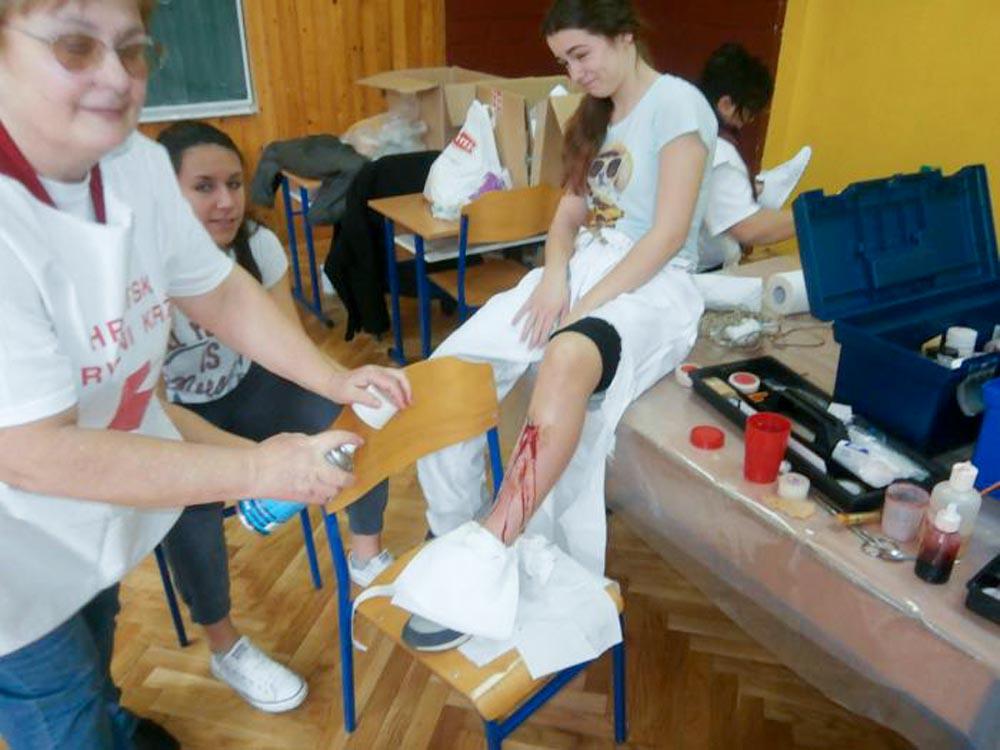 Učenici naše Škole osvojili 1. mjesto u natjecanju mladeži i podmlatka Crvenog križa!