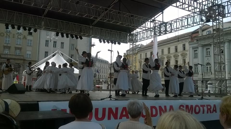 49. Međunarodna smotra folklora, Zagreb, 15. – 19. srpnja 2015.
