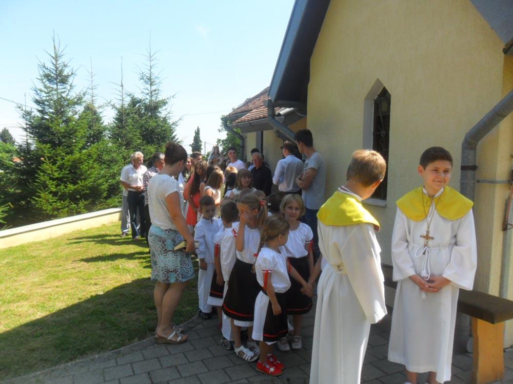Potočići pjevali povodom Srpnice