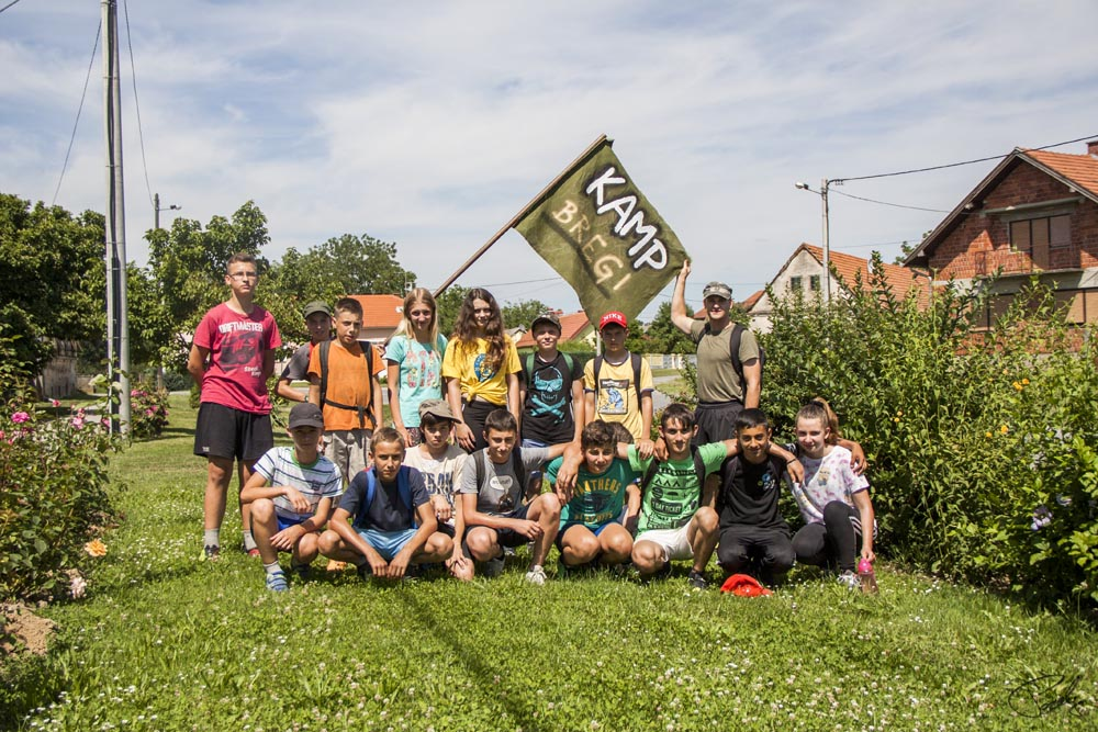 Održan kamp u parku ispred OŠ Koprivnički Bregi