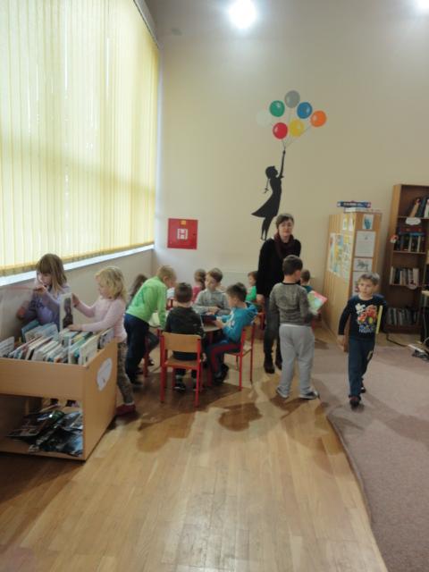 Posjet školskoj knjižnici