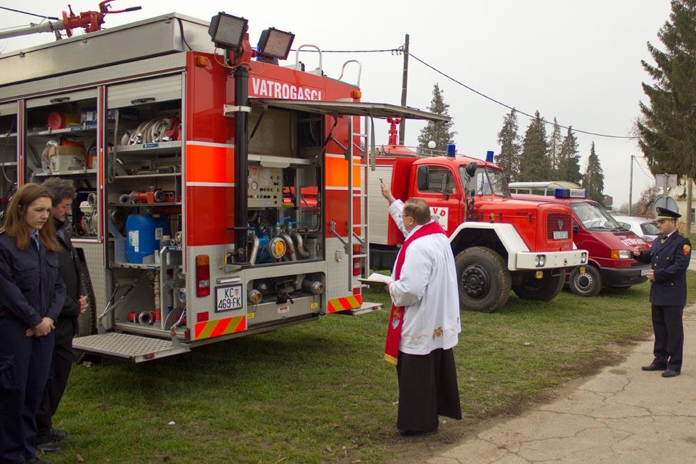 Novo navalno vatrogasno vozilo DVD-a Koprivnički Bregi