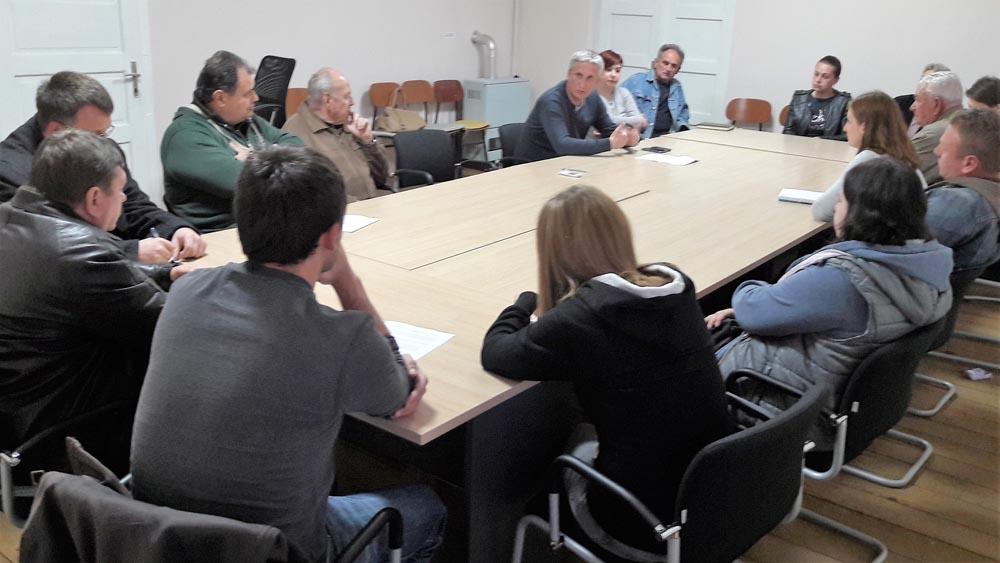 Održan radni sastanak sa udrugama i klubovima na temu projekata