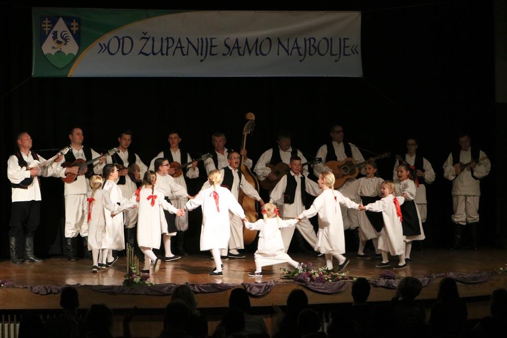 """Tamburaški sastav i Dječja grupa KUD-a """"Rudar"""" nastupili na koncertu """"Od Županije samo najbolje"""""""