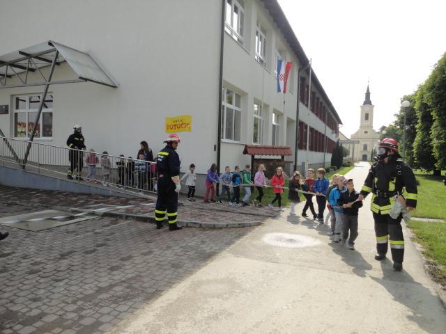 """Vježba evakuacije u """"Potočiću"""""""