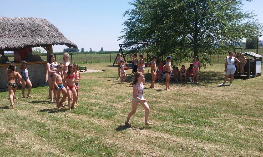 """Članice DVD-a Glogovac održale vatrogasne igrice u Ljetnom kampu """"Cerine"""""""