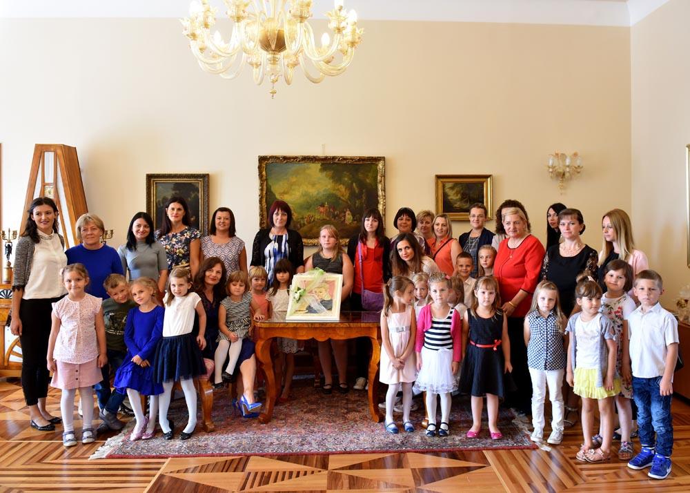 Vrapčići posjetili Predsjednicu