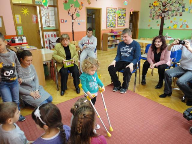"""Udruga osoba sa invaliditetom """"Bolje sutra"""" u dječjem vrtiću """"Potočić"""""""