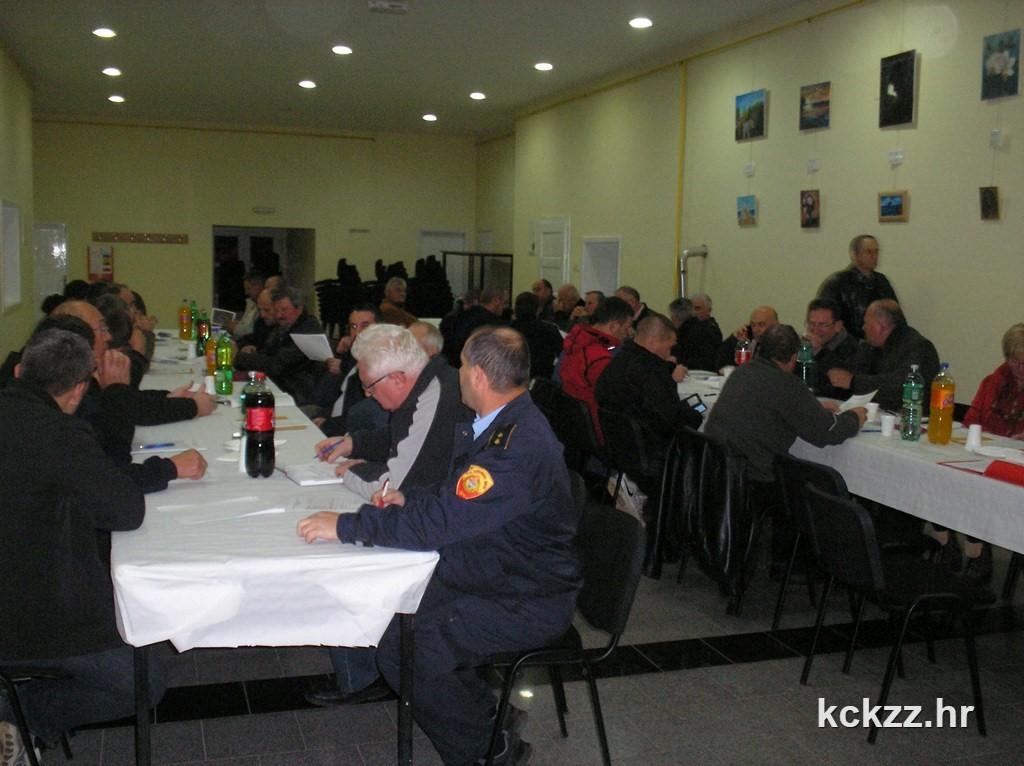 Vatrogasna zajednica Koprivničko-križevačke županije održala sjednicu