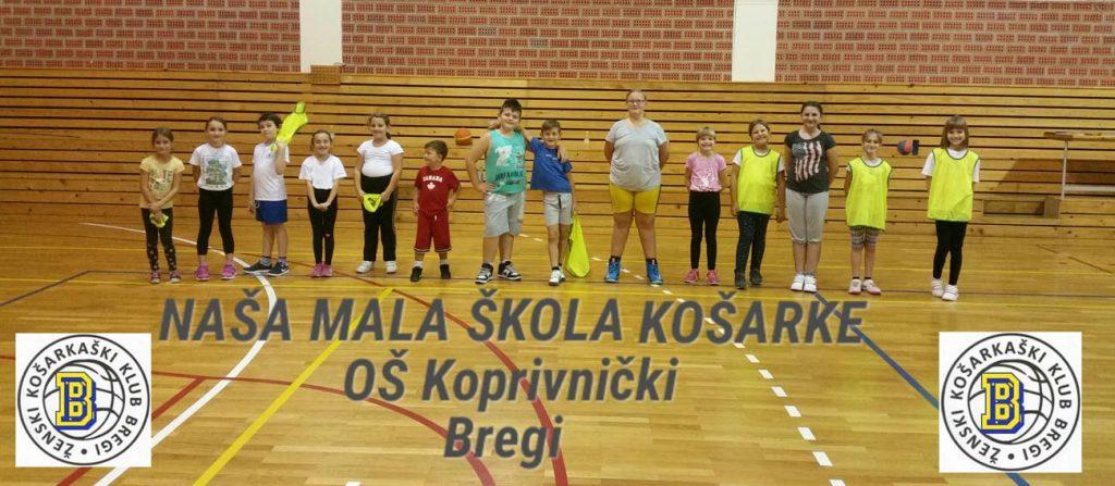 Čestitka ŽKK Bregi