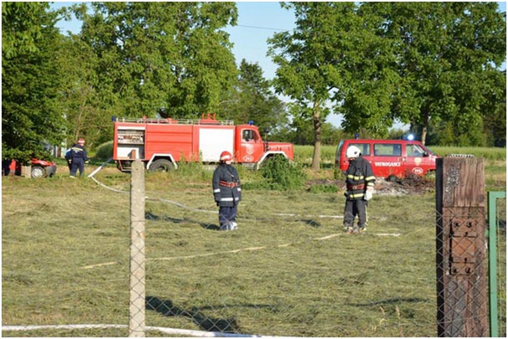 Vatrogasna taktičko pokazna vježba u Koprivničkim Bregima