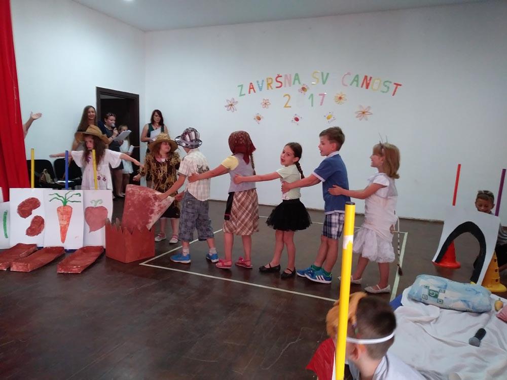 Završna svečanost predškolaca u Koprivničkim Bregima