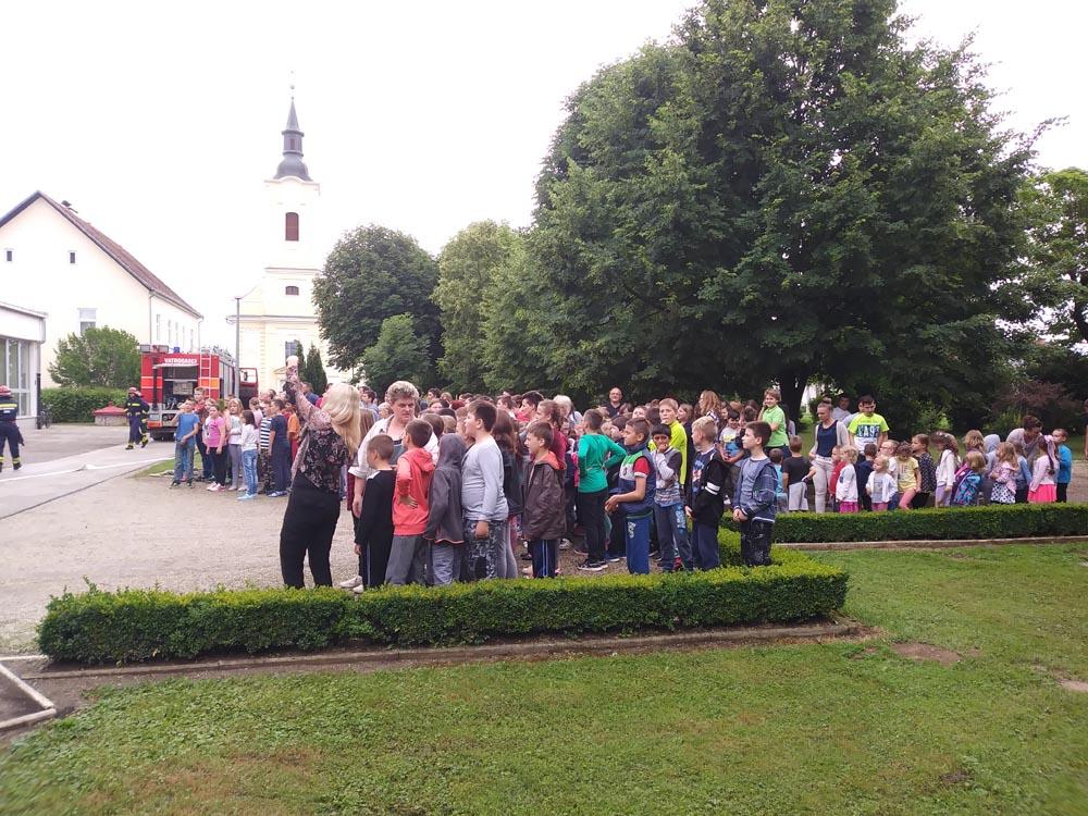 Potočići sudjelovali na evakuacijskoj vježbi