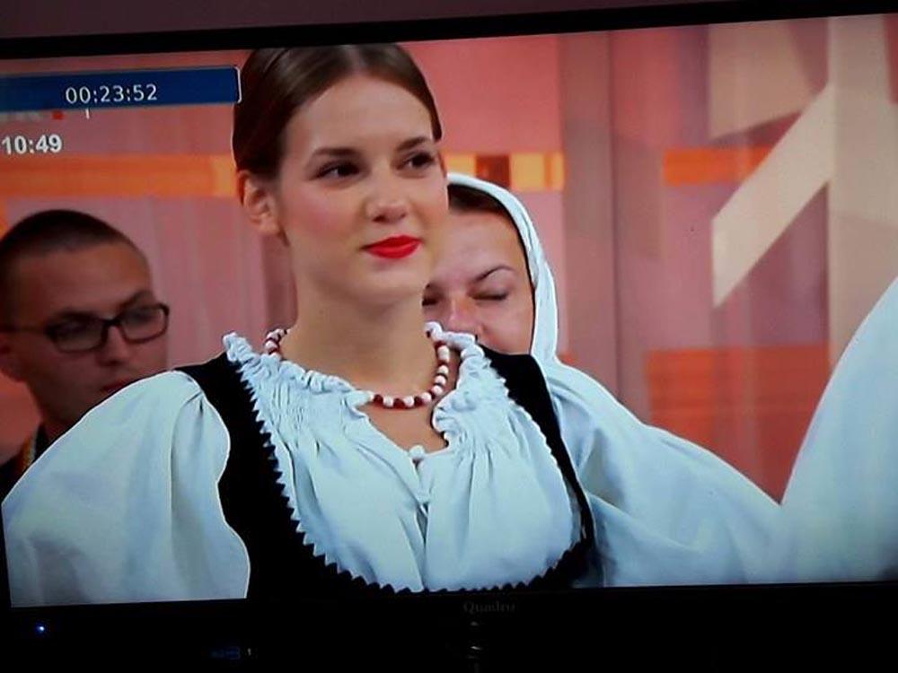 """KUD """"Rudar"""" Glogovac sudjelovao u emisiji """"Dobro jutro Hrvatska"""""""