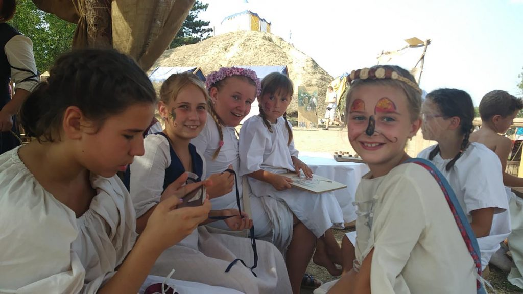 Potočići na Renesansnom festivalu