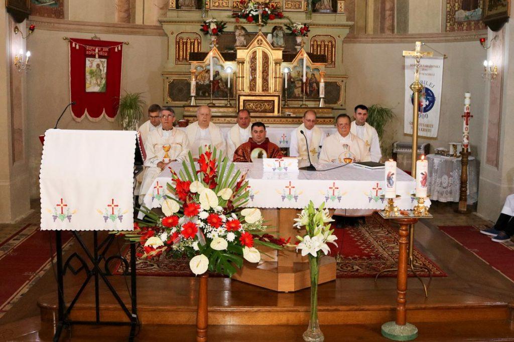 Koncelebrirana svečana Sveta misa u crkvi Svetog Roka