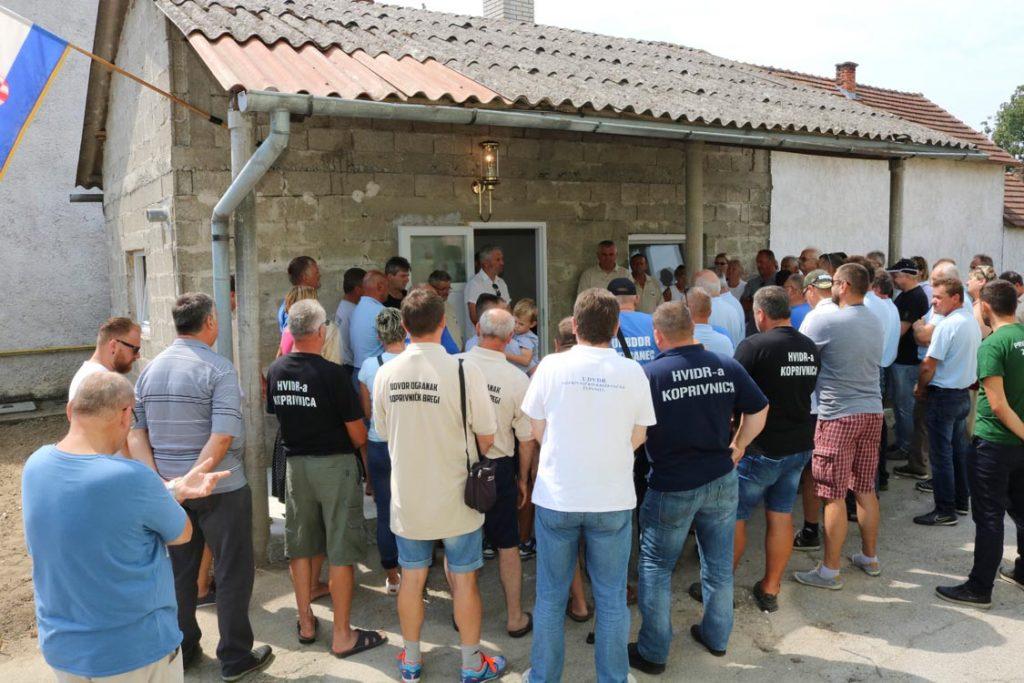 Sportski susreti branitelja i svečano otvaranje prostorija Ogranka UDVDR Općine Koprivnički Bregi