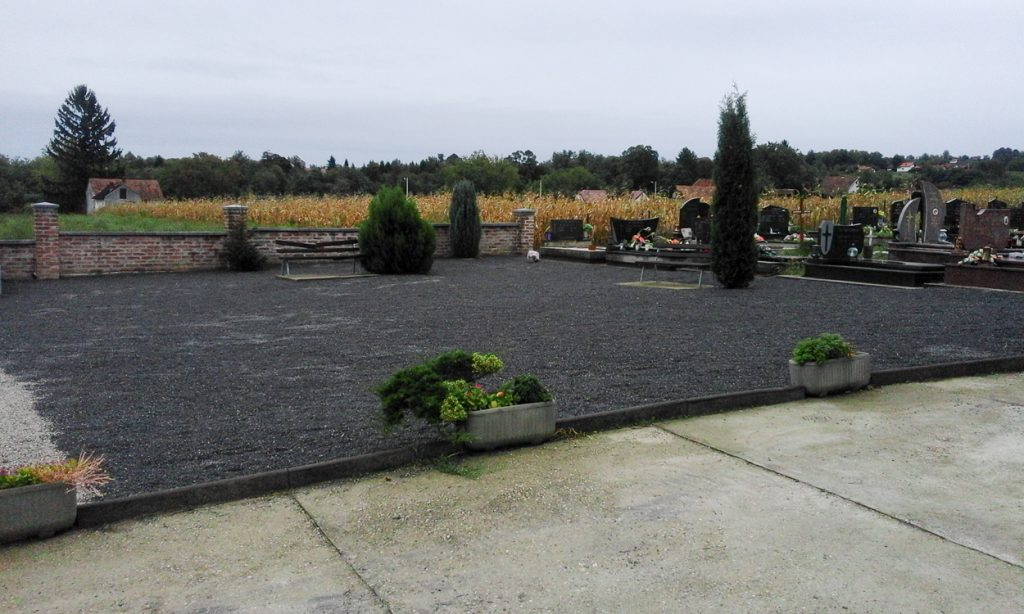 Uređenje groblja i okoliša u Glogovcu i Koprivničkim Bregima