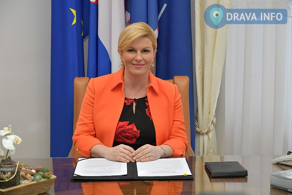 Načelnik Mario Hudić na radnom sastanku s predsjednicom RH Kolindom Grabar-Kitarović