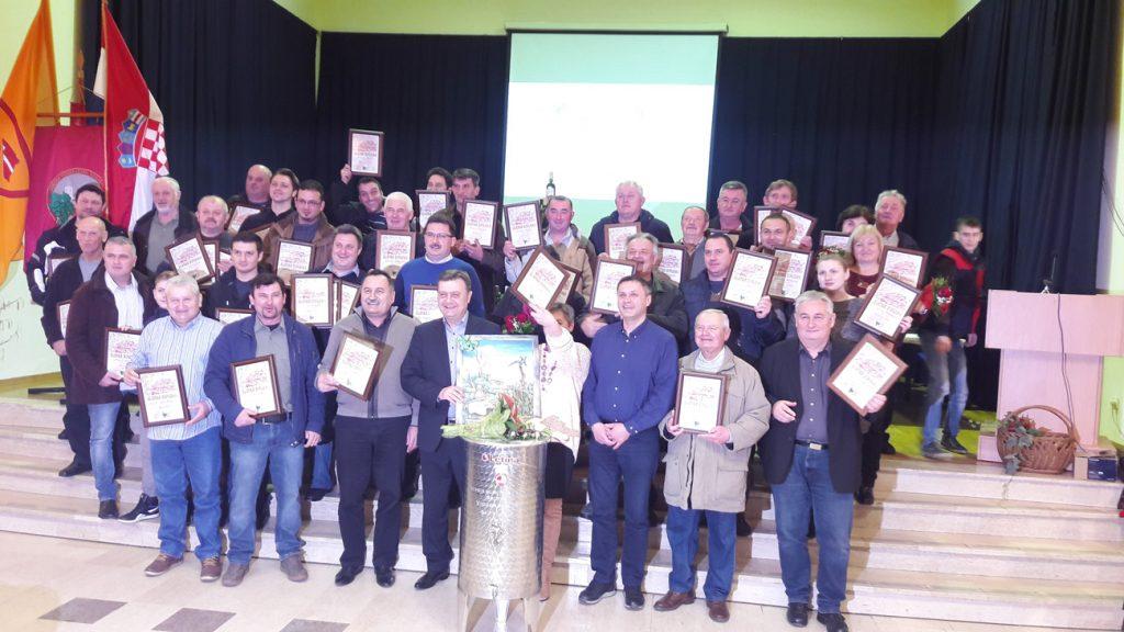Veliki uspjeh vinara iz Općine Koprivnički Bregi na 21. izložbi vina u Virju – Vincekovo 2018.