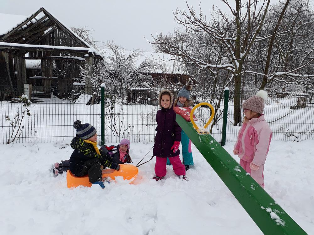 ˝Potočići˝ na snijegu