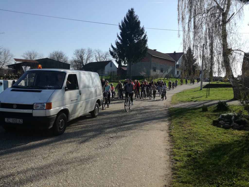Biciklijada kroz bregovske ulice do Jeduševca