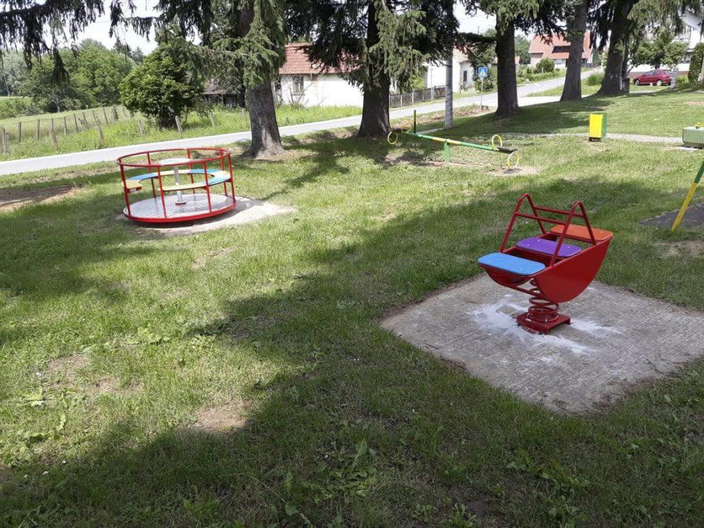 Obnovljeno dječje igralište u Glogovcu