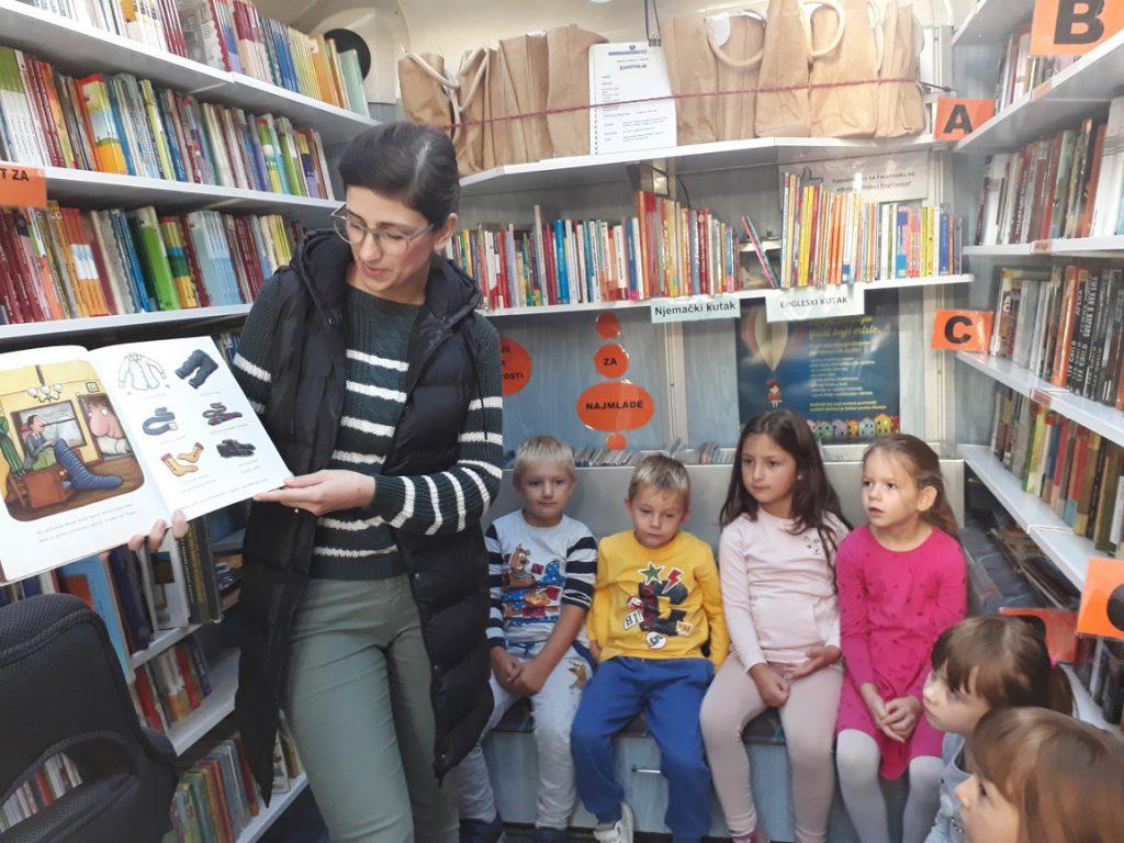 Predškolci dječjeg vrtića ˝Potočić˝ posjetili ˝Bibliobus˝
