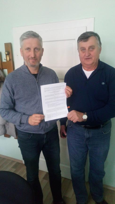 Potpisan Sporazum o sufinanciranju izgradnje pješačke staze sa oborinskom odvodnjom u Glogovcu uz državnu cestu DC2