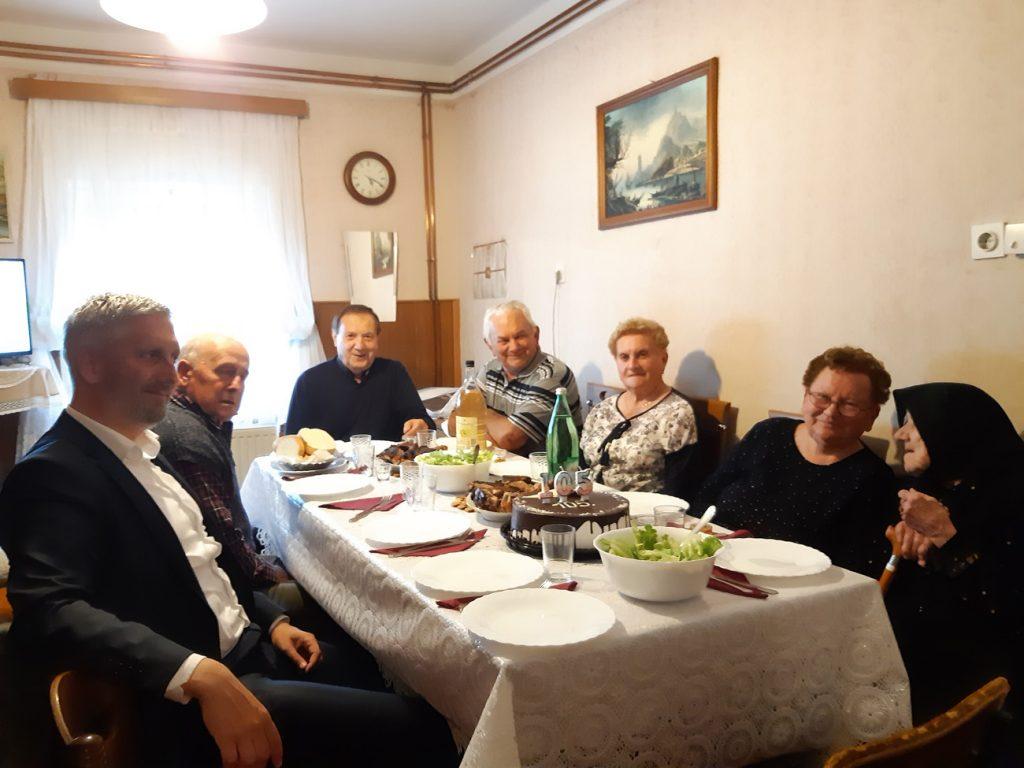 Baka Slavica slavi 105. rođendan u Koprivničkim Bregima