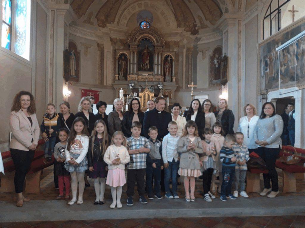 Obilježavanje Majčinog dana u Crkvi svetog Roka