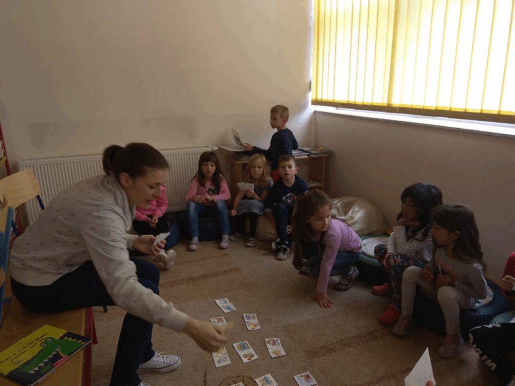 Posjet knjižnici Osnovne škole Koprivnički Bregi