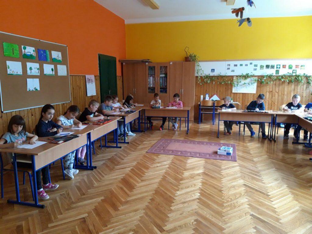 Predškolci posjetili Osnovnu školu Koprivnički Bregi