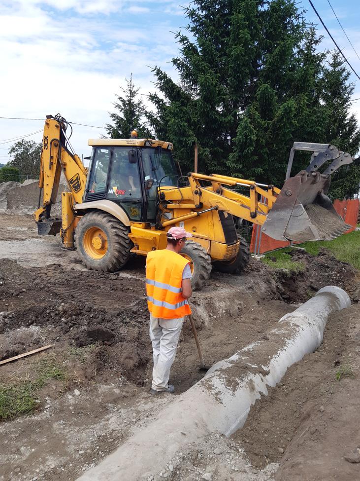 Započela izgradnja pješačko-biciklističke staze u Glogovcu