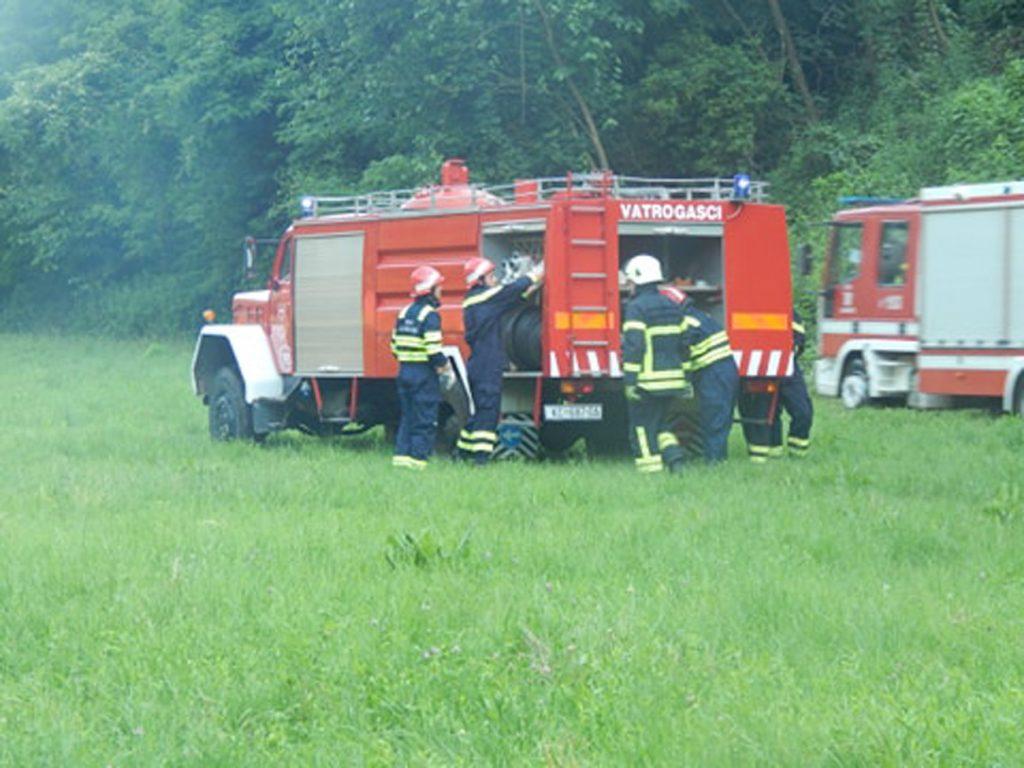 U Bakovčicama održana pokazna vatrogasna vježba
