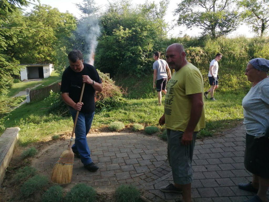 Radna akcija u Glogovcu