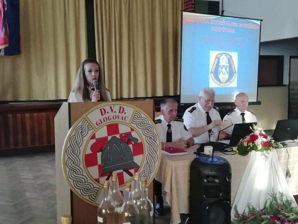 U Glogovcu održana županijska godišnja vatrogasna skupština VZŽ Koprivničko-križevačke