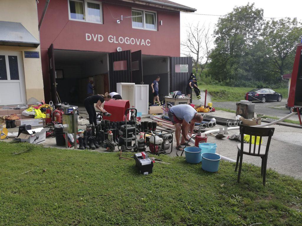 Članovi DVD-a Glogovac uredili spremište